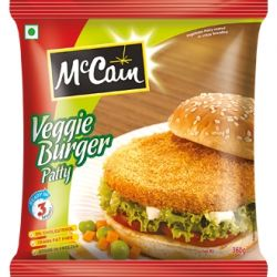 Veggie burger patty 360 gm