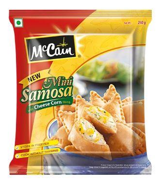 cheese corn samosa