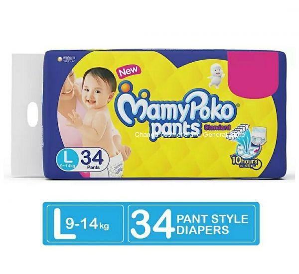 Mamypoko pants  standard  diaper L34