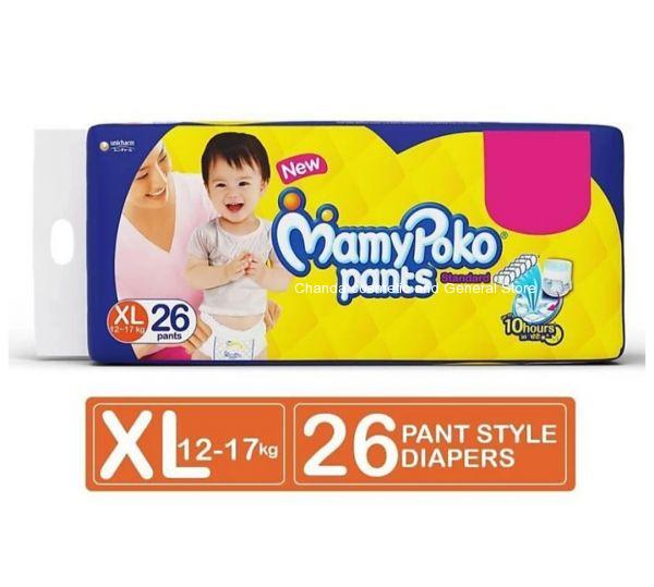Mamypoko pants standard diaper XL26