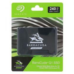 Seagate Barracuda Q1 SSD 240GB Internal Solid State Drive  25 Inch SATA 6Gbs for PC Laptop Upgrade 3D QLC NAND (ZA240CV1A001)