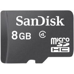 Sandisk 8GB Class 4 MicroSDHC Memory Card (SDSDQM-008G-B35)