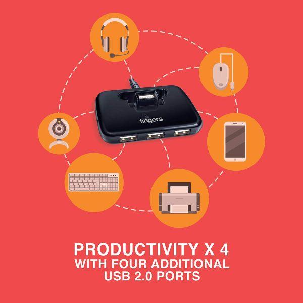 Fingers Quadrant U20 Quadrant U20 USB Hub