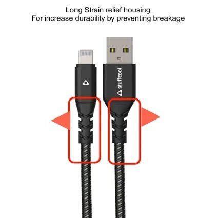 Stuffcool Vite Sync & Charge Apple MFi Certified Lightning Cable