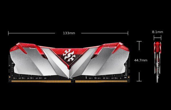Acro XPG ADATA GAMMIX D30 8GB 3000Mhz DDR4 U-DIMM Desktop RAM