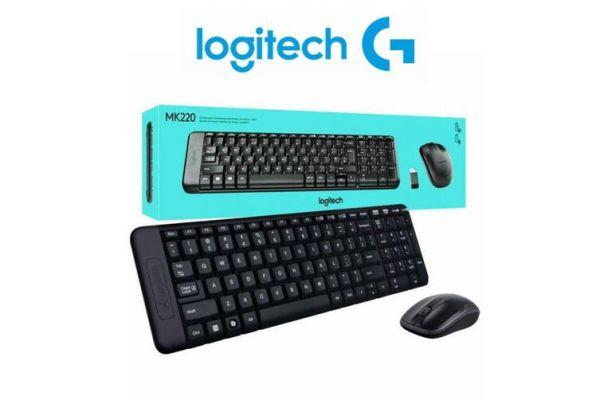 Logitech MK220 Keyboard & Mouse Wireless Combo