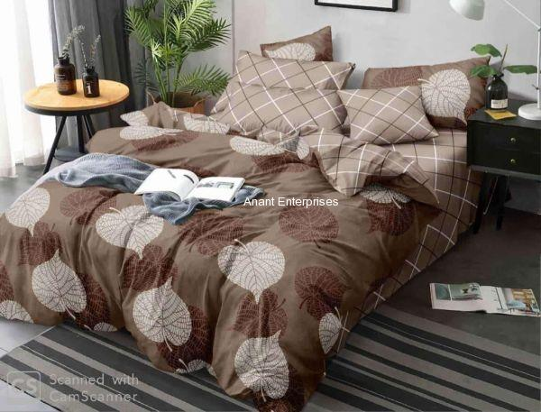 Smooth cotton  Dabule bed Bedsheet with pillow cover