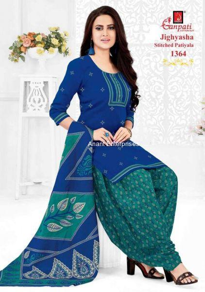 Jighyasha Dresses  Length in Meters Kurta 2-50 Mt Salwar 2-00 Dupatta 2-25  Approx blue