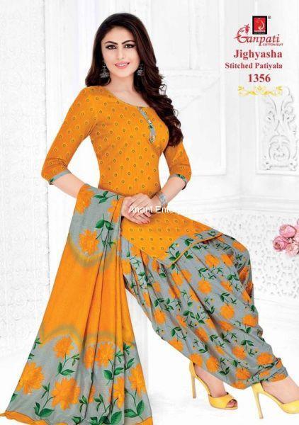 Jighyasha Dresses  Length in Meters Kurta 2-50 Mt Salwar 2-00 Dupatta 2-25  Approx Orange