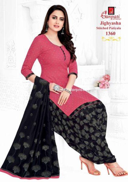 Jighyasha Dresses 2 Length in Meters Kurta 2-50 Mt Salwar 2-00 Dupatta 2-25  Approx